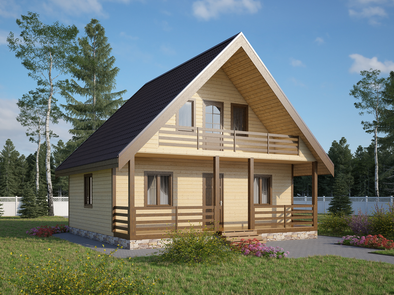 Фото дачный дом